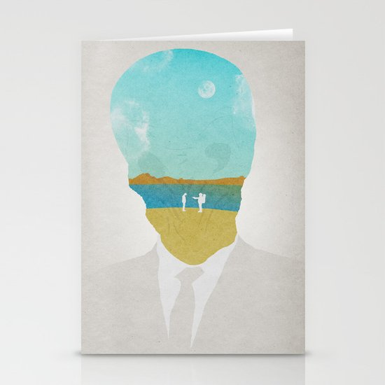 the (Silence) Impossible Astronaut Stationery Cards
