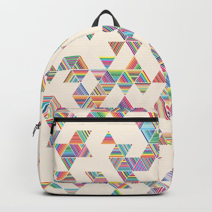 Rainbow Rain Backpack