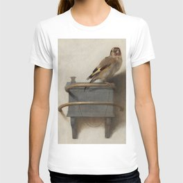THE GOLDFINCH - CAREL FABRITIUS T-shirt