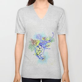From Simplicity 2 Complexity series - Neural Network Unisex V-Neck