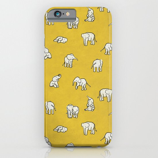 indian baby elephants iPhone & iPod Case