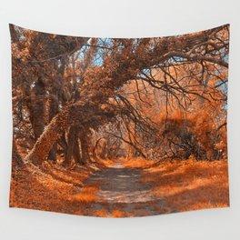 Wye Island Amber Trail Wall Tapestry