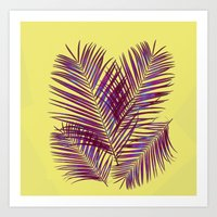 palms Art Prints featuring Palms by  Agostino Lo Coco