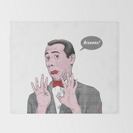 Pee Wee Herman #1 Throw Blanket