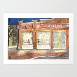 Pigeon Hill Art Print