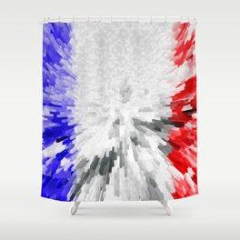 Flag of France Shower Curtain