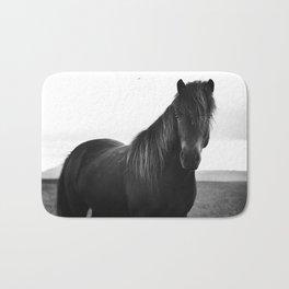 Icelandic horse Bath Mat