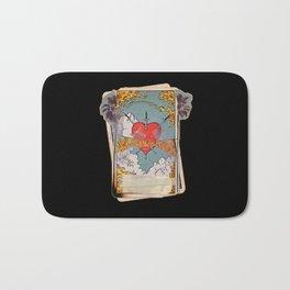 Halsey Heart Tarot card Bath Mat