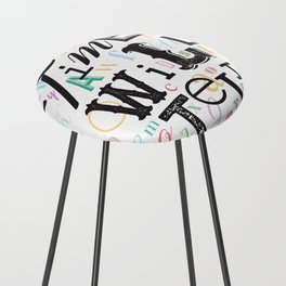 Time Will Tell Counter Stool
