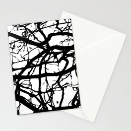 black branches Stationery Cards