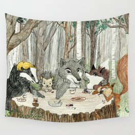 The Gangs All Here Wall Tapestry
