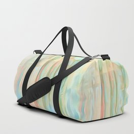 Streaks Of Colors Abstract - Pastel Duffle Bag