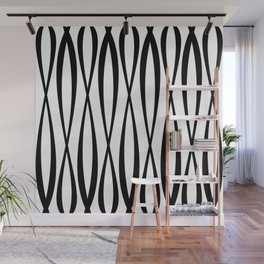 Background of seamless geometric pattern Wall Mural