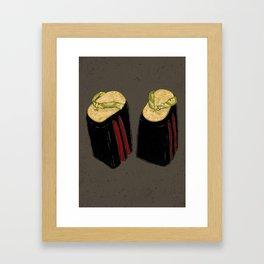 Okobo Geta Framed Art Print