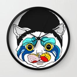 Ga Ga Cat Head Wall Clock