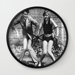 Charleston Couple Wall Clock