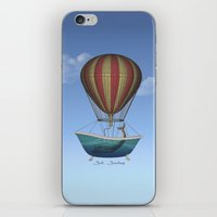 whales iPhone & iPod Skins featuring Whales by Galen Valle