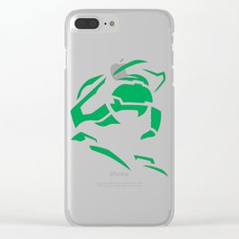 Master Chief, Halo, Xbox Clear iPhone Case