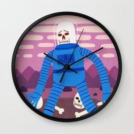 Sad Spaceman Wall Clock