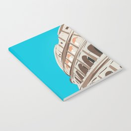 Rome, Italy Colosseum / Roma Il Colosseo, Italia Travel Poster Notebook
