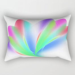 Fanned (on White) Rectangular Pillow