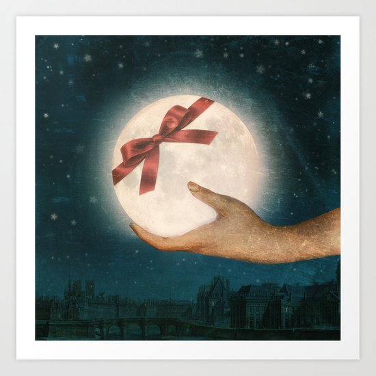 For You... The Moon Art Print