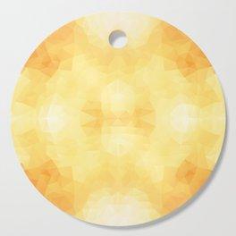 """Warm apple pie"" geometric design Cutting Board"