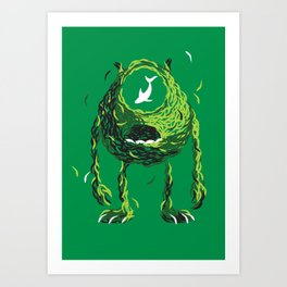 Wazowski of Fish Art Print