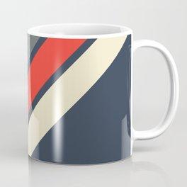 3 Retro Stripes #4 Coffee Mug