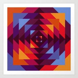 Bayer II Art Print
