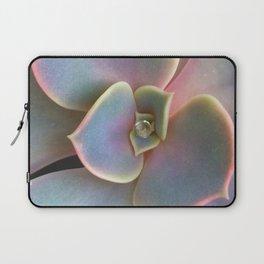 Succulent Dew Drop Laptop Sleeve