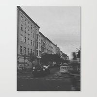 berlin Canvas Prints featuring Berlin by Jane Lacey Smith