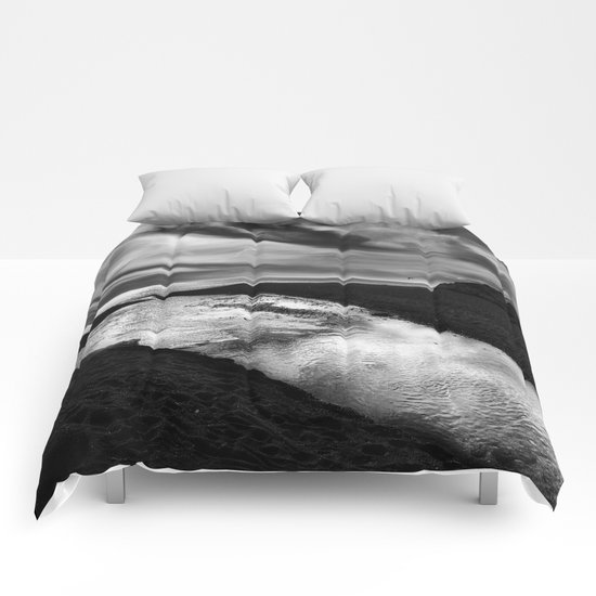 """""""River join sea"""" Comforters"""