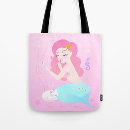 Mermaid Primp Tote Bag