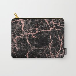 Marble Rose Gold - Someone Carry-All Pouch