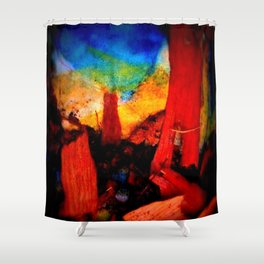 Naked Circus Shower Curtain