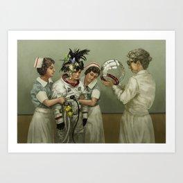 Lamentation at the Crossroads Art Print