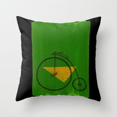 confidant III. (penny-farthing) Throw Pillow