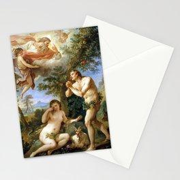 Charles-Joseph Natoire The Rebuke of Adam and Eve Stationery Cards
