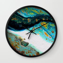 Layers of Earth Wall Clock