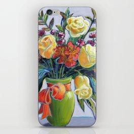 HAPPY BIRTHDAY FLOWERS iPhone Skin