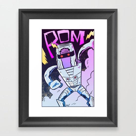 ROM! Framed Art Print