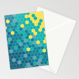 Bee Beach Stationery Cards