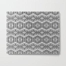 Wave Weave Metal Print
