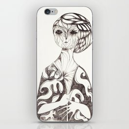 Untitled II iPhone Skin