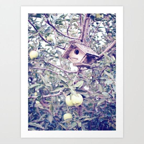 1 Apple Tree Ln. Art Print