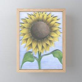 Stacy's Sunflower Framed Mini Art Print