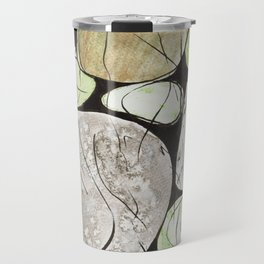 Classical Stones Pattern in High Format Travel Mug