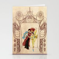 china Stationery Cards featuring China by Tina Schofield