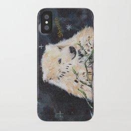 Polar Bear (night hunt) iPhone Case